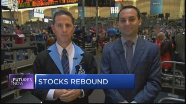 Traders say stocks have bottomed