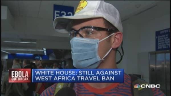 Ebola & traveler fears