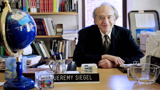 Professor of Finance Jeremy Siegel, of the University of Pennsylvania's Wharton School, is shown in his Philadelphia office.