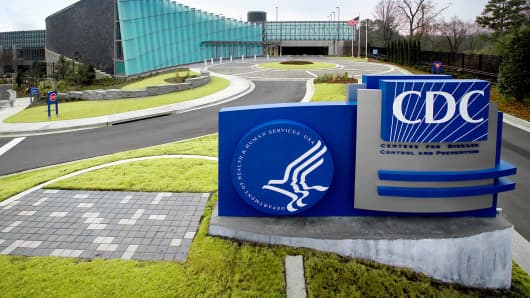 The Centers for Disease Control's Tom Harkin Global Communications Center is shown at the organization's Roybal Campus in Atlanta.
