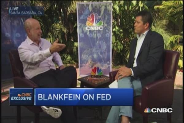 Goldman Sachs CEO: Europe deflation concern