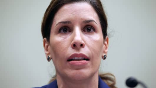 Luciana Borio, director of the Office of Counterterrorism and Emerging Threats in the U.S. Food and Drug Administration's Office of the Chief Scientist.