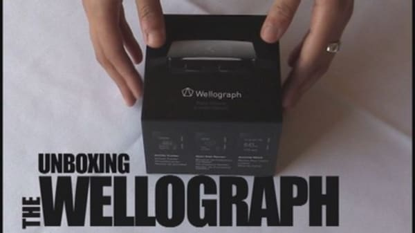 Wellograph unboxing: First impressions