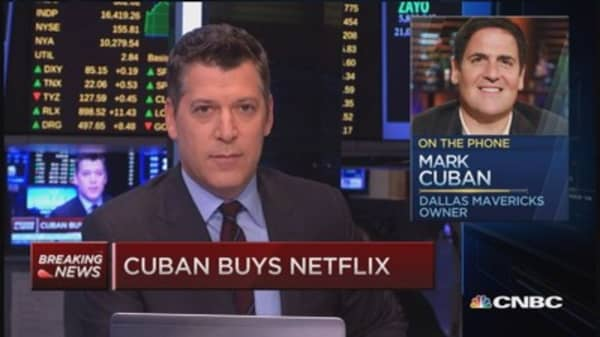 Mark Cuban: Why I bought Netflix