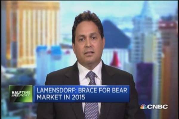 Lamensdorf: Q4 bounce, but 2015 bear