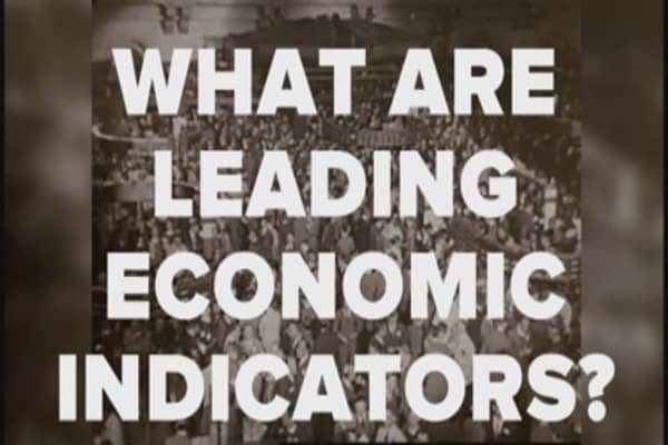 What are leading economic indicators?