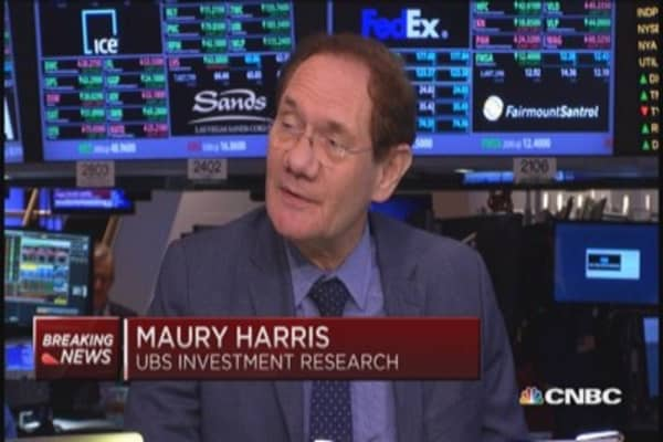 UBS' Harris: think Fed will slow tapering