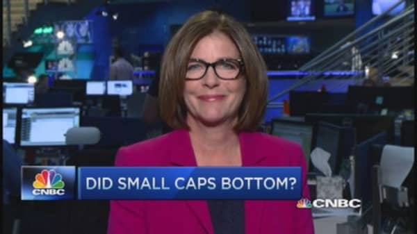 Have small caps bottomed?
