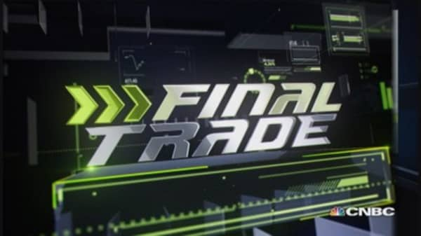 Fast Money Final Trade: DEO, GS, F & IWM