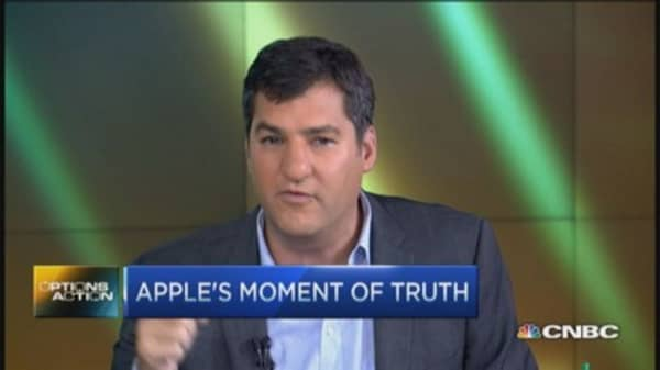 Apple moment of truth