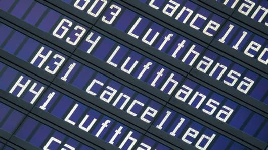 GERMANY-WAGE-STRIKE-AVIATION-LUFTHANSA