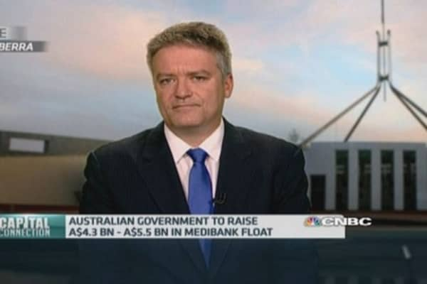 Australia Fin Min: Strong demand for Medibank