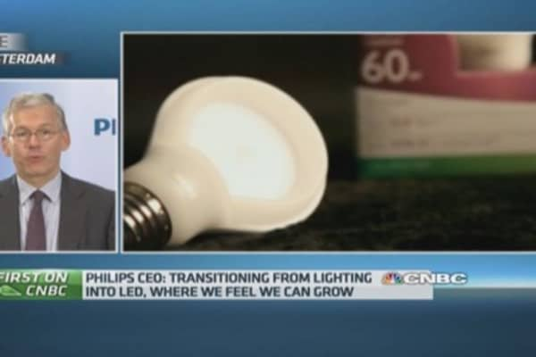 'Right time' to split Philips: CEO