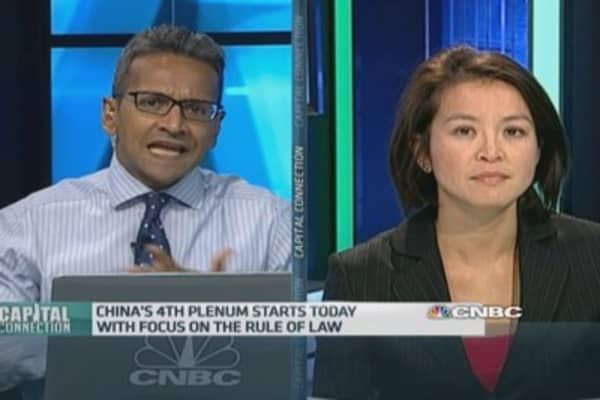 China Plenum, data deluge on tap this week