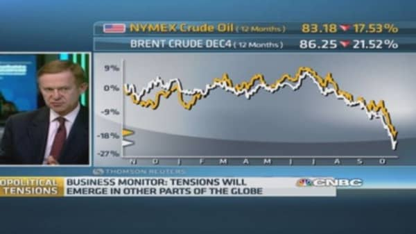 Is the US pushing oil prices down to hurt Russia?