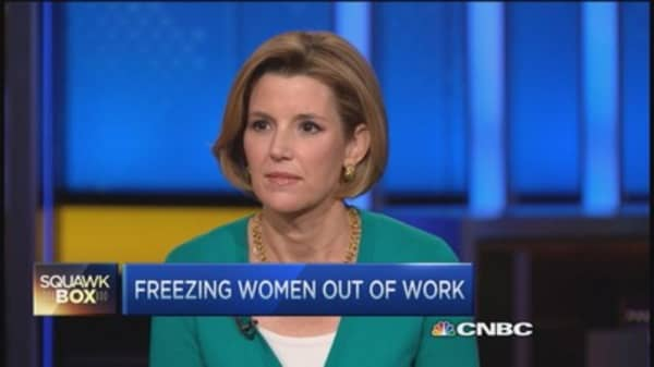 Freezing women out of work