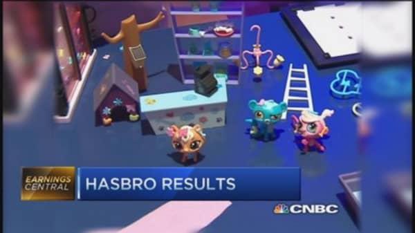 Hasbro posts Q3 profit of $1.46 per share