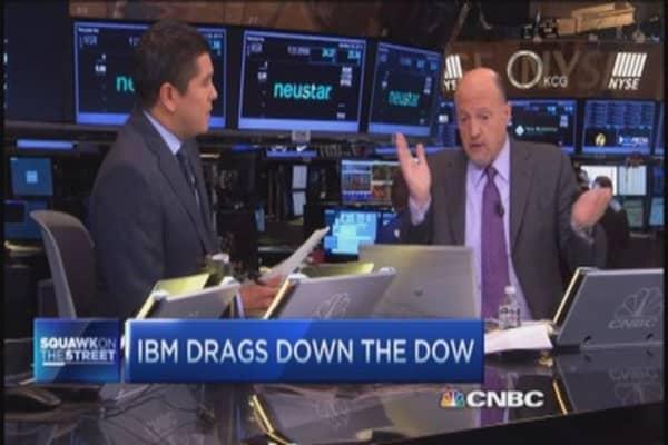 Cramer: Ebola not a reason sell