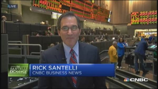 Santelli Exchange: China GDP ahead