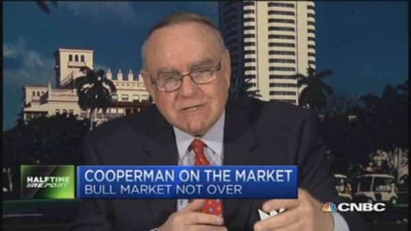 Dramatically changed market structure: Cooperman