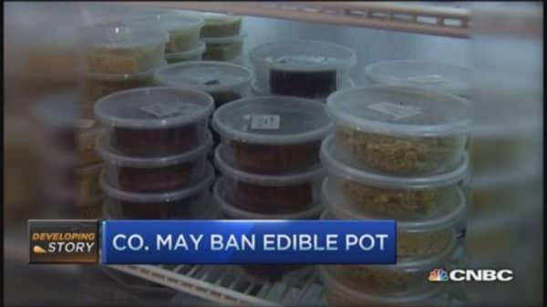 Colorado may ban edible pot
