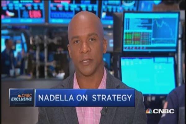 Satya Nadella: The one Microsoft