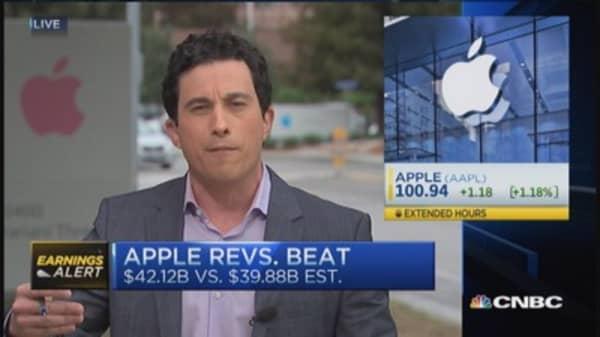 Apple trounces estimates