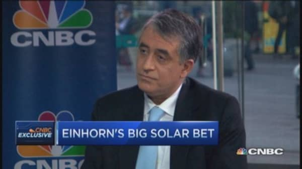 SunEdison CEO: Like having hedge funds in stock