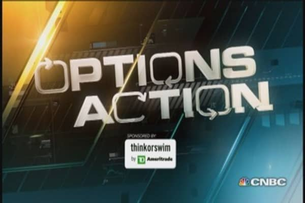 Options Action: Facebook shares to stall?