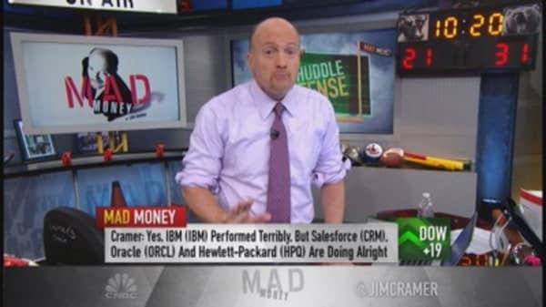 Cramer: Buyers circling back to the winners