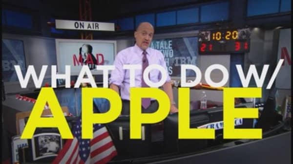 Cramer on Apple's earnings