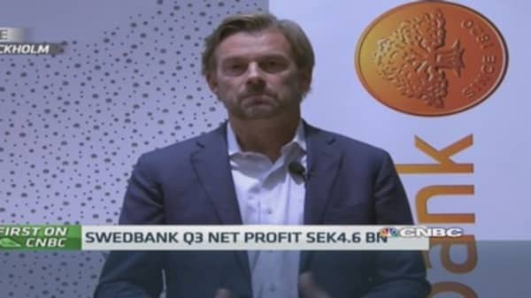 Stress tests won't be a problem: Swedbank CEO