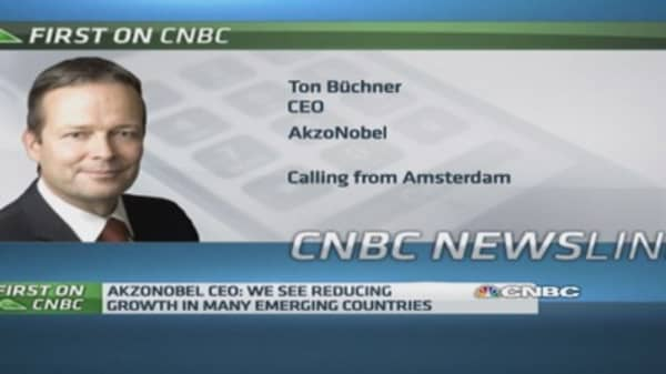 Europe 'not getting better': AkzoNobel CEO