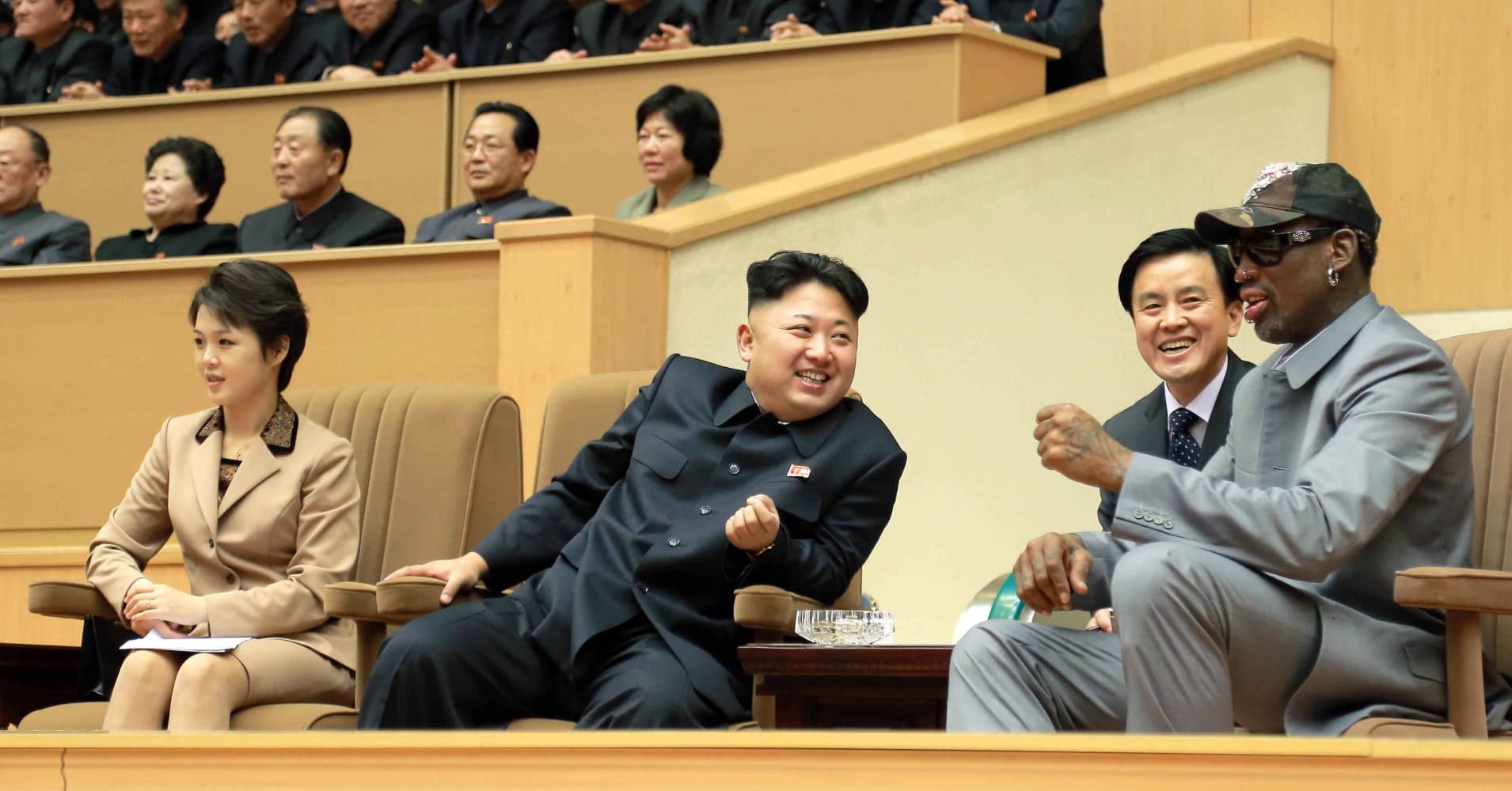 Ex-NBA player Rodman expected to arrive in North Korea on Tuesday