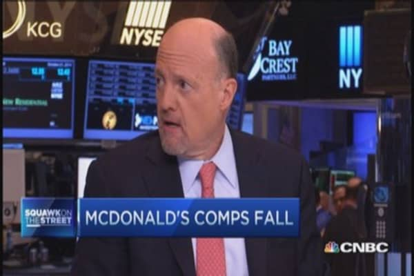 Cramer: McDonald's so bad it's good