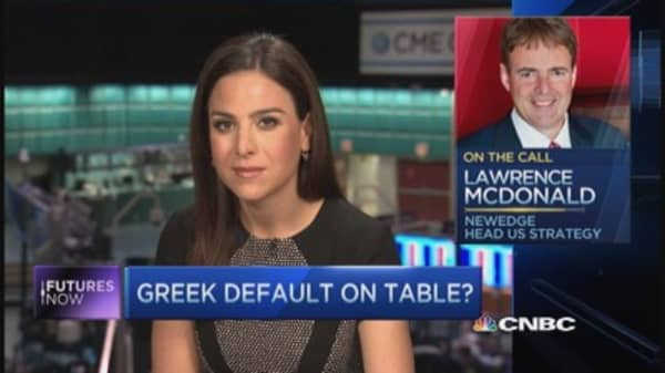 Greece could roil U.S. markets once again: Larry McDonald