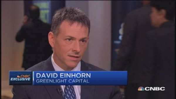 Einhorn: Buying the dip