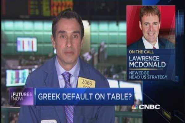 Greece a big risk to stocks: Larry McDonald