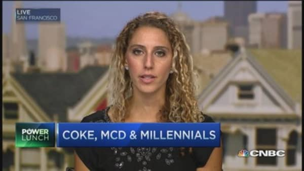 Are millennials to blame for Coke and McDonald's sliding sales?