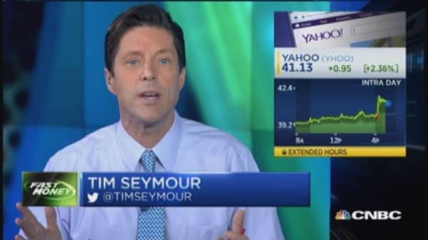 Trader: Yahoo earnings good enough
