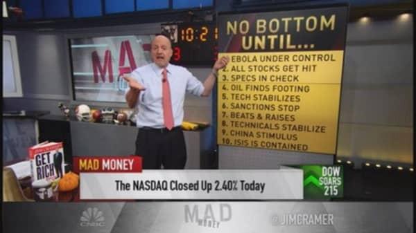 Cramer calls investable bottom