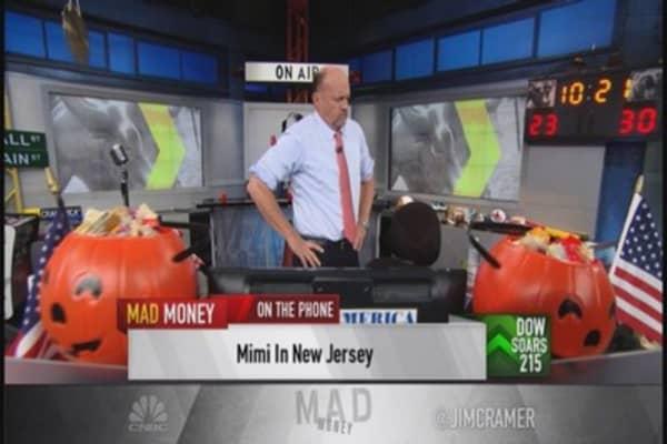 Cramer: Industrials go higher