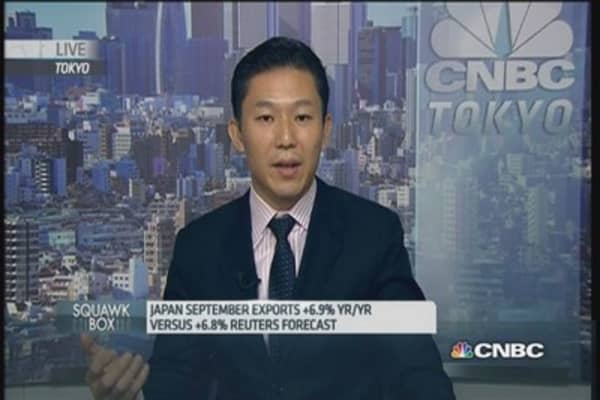 'Bright points' in Japan September trade data: Pro