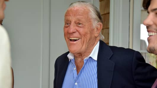 Benjamin 'Ben' Bradlee, former executive editor of the Washington Post.
