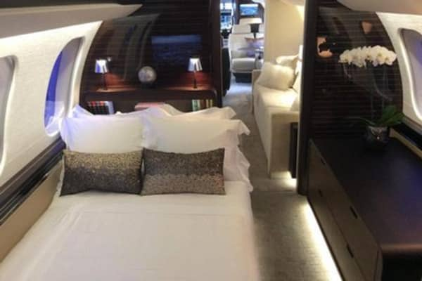 Inside Bombardier's new private jet