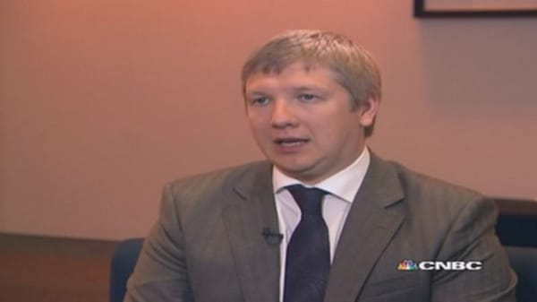 Naftogaz CEO: Russia/China relationship a 'political bluff'
