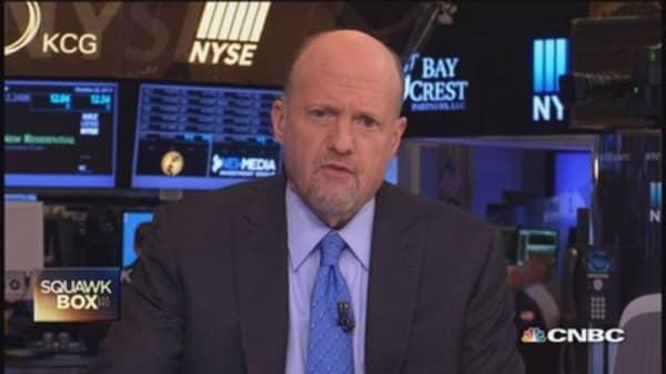 Cramer eyeing pricing power & Yahoo
