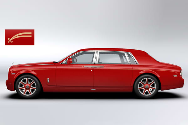 A Rolls-Royce Phantom image from the Louis XIII order.