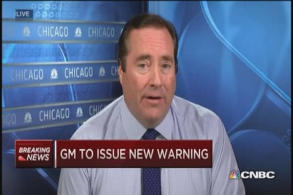 GM to issue new warning against faulty air bag