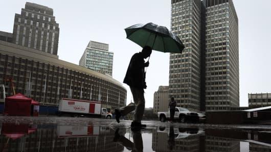 Rain Boston